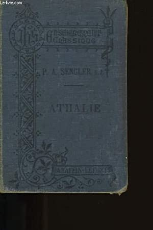 ATHALIE.: J. RACINE.