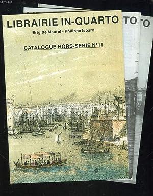 LIBRAIRIE IN-QUARTO. LOT DE 3 CATALOGUES HORS: BRIGITTE MAUREL, PHILIPPE
