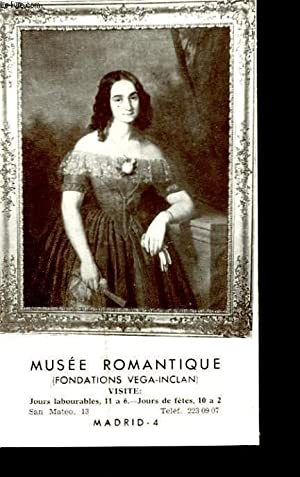 MUSEE ROMANTIQUE. FONDATION VEGA-INCLAN.: COLLECTIF