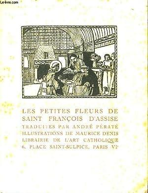 LES PETITES FLEURS: SAINT FRANCOIS D'ASSISE