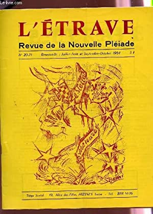 L'ETRAVE - N°20-21 - juil-aout et sept-oct: COLLECTIF / HEURTEBIZE