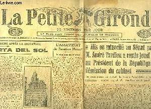 La Petite Gironde, N°31327 - 60e année : La Puerta del Sol: COLLECTIF
