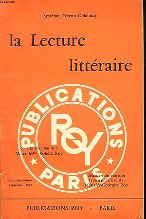 SYSTEME PREVOST-DELAUNAY. LA LECTURE LITTERAIRE. LECTURES STENOGRAPHIQUES: M. ET Mme