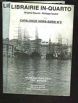 LIBRAIRIE IN-QUARTO. LOT DE 2 CATALOGUES HORS: BRIGITTE MAUREL, PHILIPPE