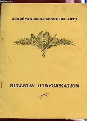BULLETIN D'INFORMATION - (PREMIER NUMERO).: COLLECTIF