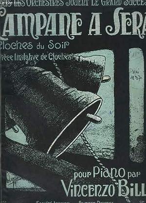 CAMPANE A SERA / LES CLOCHES JOYEUSES + LA PENDULE EN SPECIMEN - OP. 316 - POUR PIANO.: BILLI ...