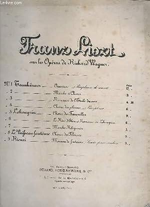 OUVERTURE DE TANNHAUSER - PARAPHRASE DE CONCERT - N°1 - PIANO.: LISZT FRANZ / WAGNER RICHARD