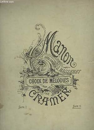 CHOIX DE MELODIE - SUITE 2 : CRAMER / MASSENET