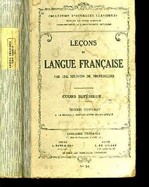 LECONS DE LANGUE FRANCAISE N°70.: COLLECTIF.