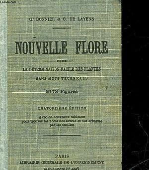 NOUVELLES FLORE POUR LA DETERMINATION FACILE DES PLANTES: BONNIER GASTON