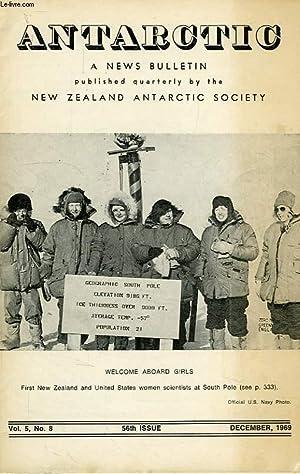 ANTARCTIC, A NEWS BULLETIN, VOL. 5, N° 8, DEC. 1969: COLLECTIF