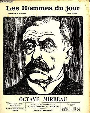 LES HOMMES DU JOUR N° 37. OCTAVE MIRBEAU.: Texte de FLAX, Dessin A. DELANNOY.