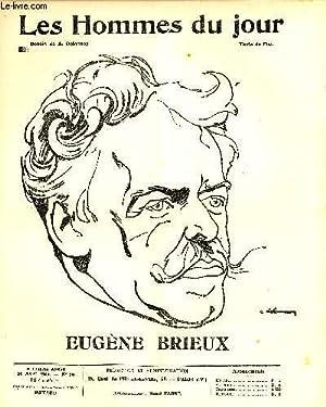 LES HOMMES DU JOUR N° 66. EUGENE BRIEU.: Texte de FLAX, Dessin A. DELANNOY.