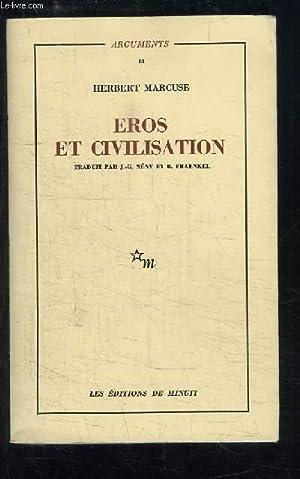Eros et Civilisation.: MARCUSE Herbert