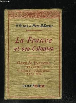Dissertation la france et ses colonies