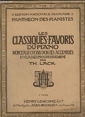 LES CLASIQUES FAVORIS DU PIANO - 5° VOLUME - N°1070 - LE CARILLON DE CYTHERE + ADAGIO ...