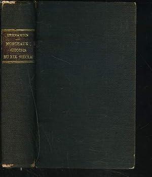 MORCEAUX CHOISIS DES CLASSIQUES FRANCAIS DU XVIIIe SIECLE (PROSATEURS ET POETES).: N.M. BERNARDIN