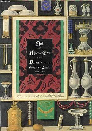 ARTI DEL MEDIO EVO E DEL RINASCIMENTO, OMAGGIO AI CARRAND, 1889-1989: COLLECTIF