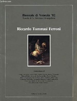 BIENNALE DI VENEZIA '82, RICCARDO TOMMASI FERRONI: COLLECTIF