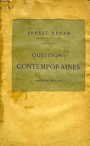 QUESTIONS CONTEMPORAINES: RENAN ERNEST