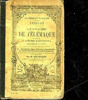 LES AVENTURES DE TELEMAQUE SUIVIES DES AVENTURES D'ARISTONOUS: FENELON PAUL