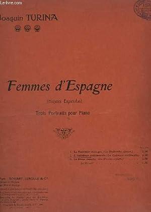 FEMMES D'ESPAGNE - TROIS PORTRAITS POUR PIANO - N° 2 : L'ANDALOUSE SENTIMENTALE.: ...