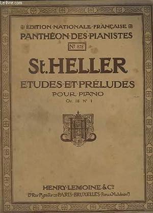 ETUDES ET PRELUDES POUR PIANO - OP.16: HELLER ST.