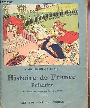 HISTOIRE DE FRANCE ENFANTINE.: GUILLEMAIN - GUILLERMIT - LE STER (ABBE).