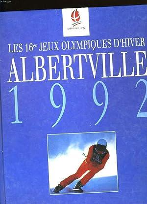 LES 16 ème JEUX OLYMPIQUES D'HIVER ALBERTVILLE 1992.: DOMINIQUE GRIMAULT.