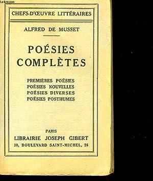 POESIE COMPLETES.: ALFRED DE MUSSET