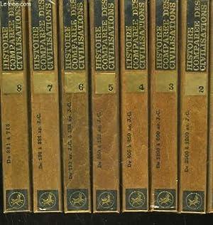 HISTOIRE COMPAREE DES CIVILISATIONS - 16 TOMES: HOFSTATTER HANS H. - PIXA HANNES