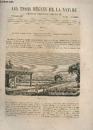 LES TROIS REGNES DE LA NATURE - LECTURES D'HISTOIRE NATURELLE / DEUXIEME ANNEE - N°...