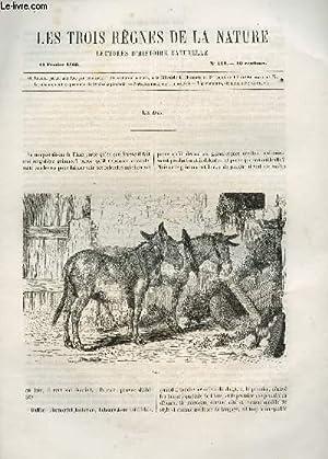 LES TROIS REGNES DE LA NATURE - LECTURES D'HISTOIRE NATURELLE / TROISIEME ANNEE - N°...