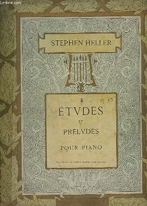 ETUDES ET PRELUDES - CAHIERS N° 5 : 25 ETUDES : INTRODUCTION A L'ART DE PHRASER - POUR ...
