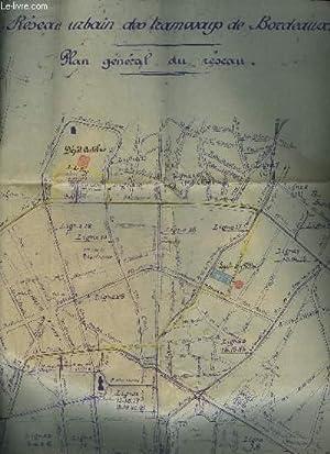 RESEAU URBAIN DES TRAMWAY DE BORDEAUX - TEOB N°2 - DESSIN N° 4091: COLLECTIF