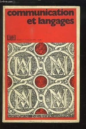 Communication et Langages. N°17 : Cinq méthodes: RICHAUDEAU François &