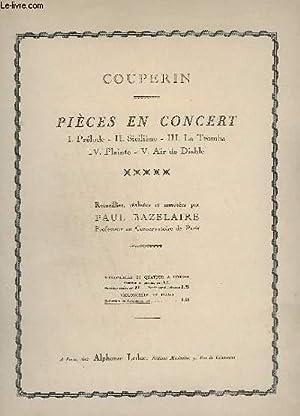 PIECES EN CONCERT - N° 1 : COUPERIN / BAZELAIRE