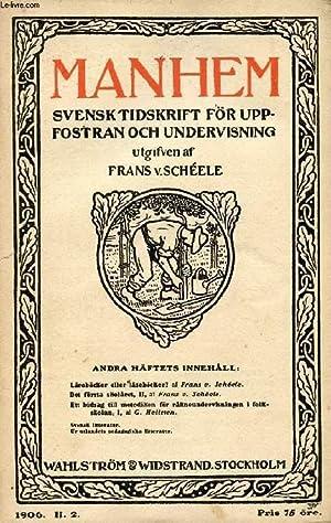 MANHEM, 1906, H. 2, SVENSK TIDSKRIFT FÖR: COLLECTIF