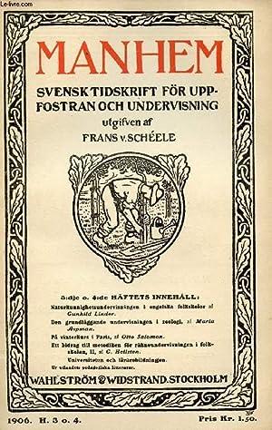 MANHEM, 1906, H. 3 O. 4, SVENSK: COLLECTIF