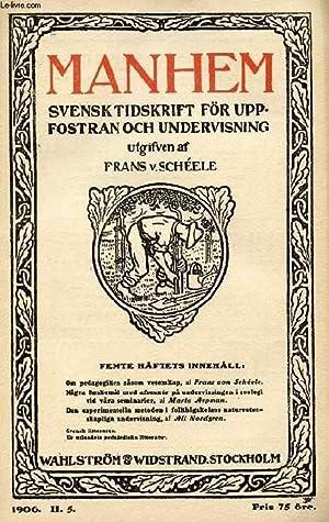 MANHEM, 1906, H. 5, SVENSK TIDSKRIFT FÖR: COLLECTIF