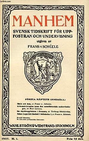 MANHEM, 1907, H. 1, SVENSK TIDSKRIFT FÖR: COLLECTIF