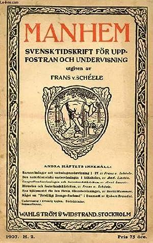 MANHEM, 1907, H. 2, SVENSK TIDSKRIFT FÖR: COLLECTIF
