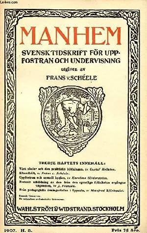 MANHEM, 1907, H. 3, SVENSK TIDSKRIFT FÖR: COLLECTIF