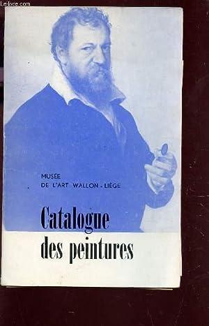 CATALOGUE DES PEINTURES - ANNEE 1954.: COLLECTIF