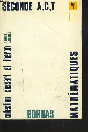 COLLECTION DE MATHEMATIQUES. CLASSE DE 2e A,: E. COSSART, P.