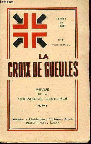 LA CROIX DE GUEULES - 4e ANNEE: ALIBERT DE LA