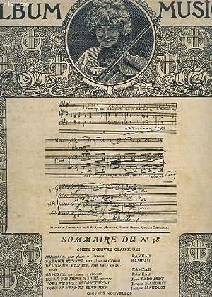 ALBUM MUSICA - N°98.- MUSETTE + PREMIER: COLLECTIF