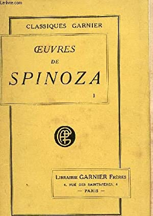 OEUVRES DE SPINOZA TRADUITES ET ANNOTEES /: APPUHN Ch;