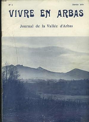 VIVRE EN ARBAS, JOURNAL DE LA VALLEE: COLLECTIF