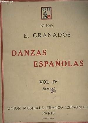 DANZAS ESPANOLAS - VOLUME 4 : 10 A 12 - POUR PIANO SEUL.: GRANADOS E.